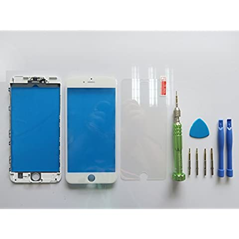 Front Glass Outer Lens Touch Screen Cover With Frame Bezel für Apple iPhone 6S 5.5