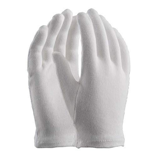 guanti di cotone Orma Confezione da 12 Paia di Guanti in Maglia di Cotone 100%