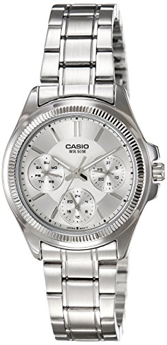 Casio (LTP-2088D-7AVDF|A934) Enticer Silver Dial Women's Analog Watch image