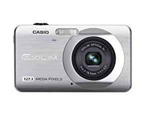 Casio EXILIM EX-Z90 SR Digitalkamera (12,1 Megapixel, 3-fach opt. Zoom, 6,9 cm (2,7 Zoll) Display) silber