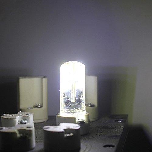 LED Perlen-Lampen G4 24 SMD 2835, 240 lm, 3 Walt entspricht 30 W Glühlampe oder Halogen Lampen, LED Energiesparleuchte, kaltweiß 6500 K AC12V /AC220V (1 Stück, AC 12 Volt) - 2