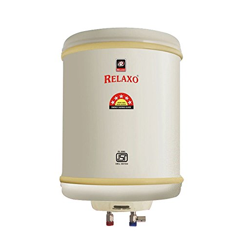 Relaxo 10 Litre 5 Star Geyser Water Heater ( ISI Mark )