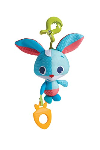 Tiny Love Tiny Friends Jouet Clipsable avec Rétroaction à Vibrations Thomas Le Lapin