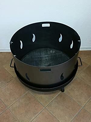 Funkenschutz Ø 80 cm für eine Feuerschale von Czaja Stanzteile - Du und dein Garten
