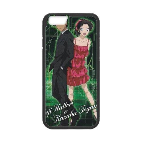 Detective Conan coque iPhone 6 Plus 5.5 Inch Housse téléphone Noir de couverture de cas coque EBDXJKNBO09872