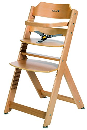 Safety 1st Timba Wooden Highchair (Natural) 41lSCwoCMTL