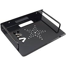 DVD soporte de pared soporte para estante, homeyoo aleación de Alumimum soporte de pared soporte para estante/soporte/soporte para TV Box, Apple TV, Roku 3/2, Router, decodificador, Mini PC, TV accesorios