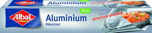 Albal rotolo alluminio, facile da tagliare, resistente