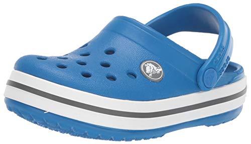 Crocs Unisex-Kinder Crocband Kids Clogs, Blau (Bright Cobalt-Charcoal 4jn), 22/23 -