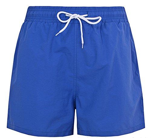 Promstar Herren Badeshorts Beachshorts Boardshorts Swimmingshorts Sommer shorts Blau