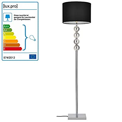 """[lux.pro] Stehleuchte """"Spheridem"""" [1 x E27 Sockel][155 cm x Ø 37,5 cm] Stehlampe Fußbodenlampe Zimmerlampe Wohnzimmerlampe von [lux.pro] - Lampenhans.de"""