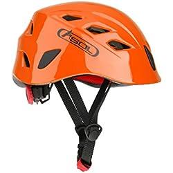 Casco De Seguridad Cascos De Escalada Kayak Rapel Protector De Rescate - Naranja