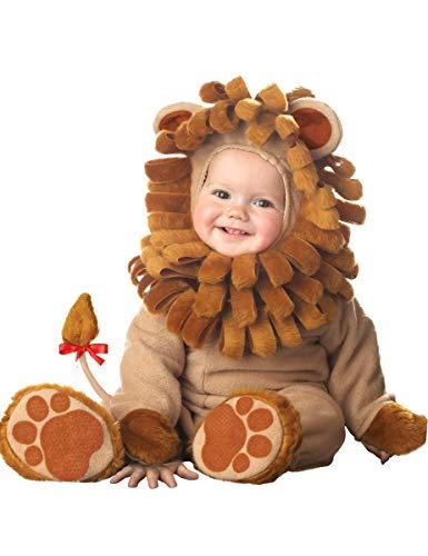 Generique - Deluxe Löwen-Kostüm für Babys mit schöner Mähne 68/74 (6-12 ()