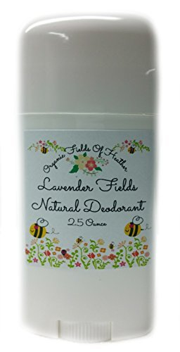 Organic Deodorant-Lavender Fields-Healthy All Natural Deodorant Detoxes With No Aluminum - Handcrafted In New...