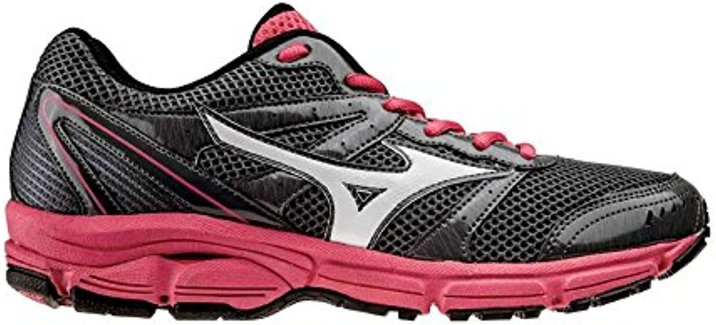Mizuno Zapato de Running Para Mujer Oficial 2014/2015 Wave 2 Impetus WOS J1GF141302 Gris, Talla M, Color Blanco...