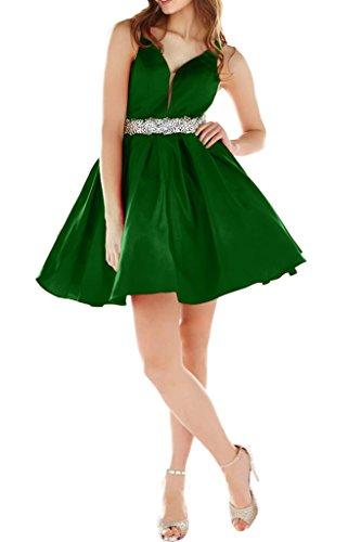 Victory Bridal - Robe - Trapèze - Femme Vert