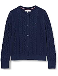 Tommy Hilfiger Cable Cardigan Suéter para Mujer