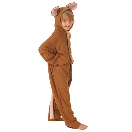 Brown Mouse Costume for kids 8-10 Years by Charlie Crow (Charlie Brown Party Supplies)