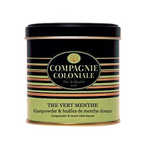 Compagnie Coloniale - Thé Vert Menthe - Boite Luxe 130g