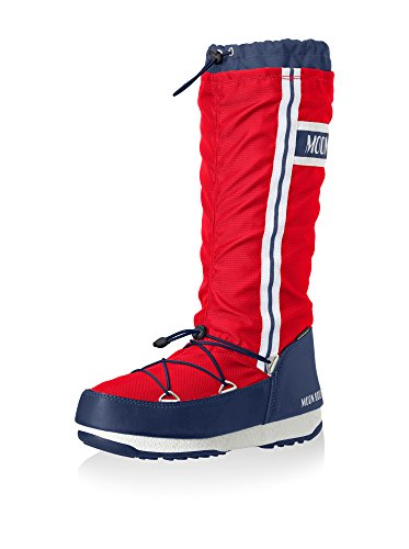 Blue Red Boot Red Tecnica Moon Boot Moon Tecnica nfngP0Uq