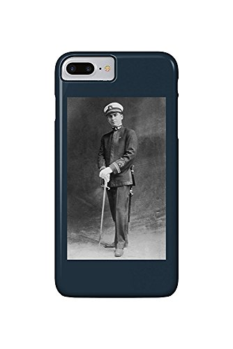 Us Navy Officer Uniform (Early US Navy Officer in Uniform Posing (iPhone 7 Plus Cell Phone Case, Slim Barely There))