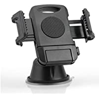 XST-8027 Suction Cup Base Car Phone Bracket 360 Rotation Mobile Phone Holder Stand Durable Cell Phone Stand - Black