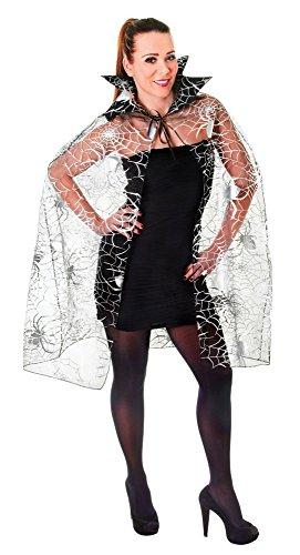 Bristol Novelty ac989Spider Web Cape, One (Kleid Web Erwachsene Spider Kostüme)