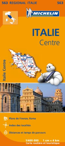 Carte Italie Centre Michelin par Collectif MICHELIN