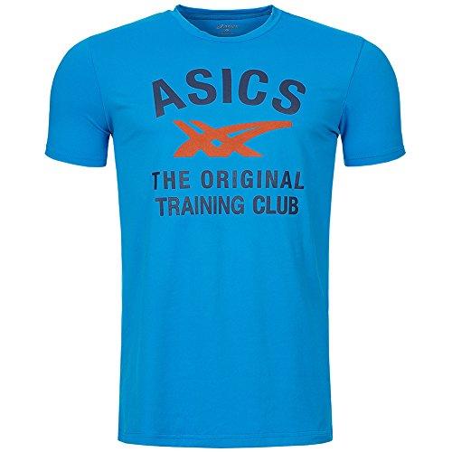 asics-performance-manche-courtes-stripes-t-shirt-l