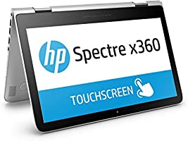 HP Spectre x360 (13-4108ng) 33,8 cm (13,3 Zoll / QHD IPS) Convertible Notebook (360° Laptop, Intel Core i7-6500U, 8 GB RAM, 256 GB SSD, Windows 10) silber