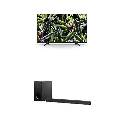 Sony KD-65XG7005 Bravia 65 Zoll (164cm) Fernseher (Ultra HD, 4K HDR, Smart TV, USB HDD Recording) schwarz Sony HT-XF9000 2.1-Kanal Dolby Atmos/DTS:X Soundbar Schwarz