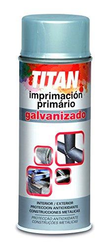 Titan M59208 - Imprimación Galvanizado, color Gris/Plata, 400ml