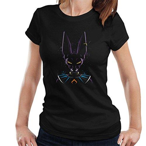 Cloud City 7 Dragon Ball Z Beerus Paint Splatter Women's T-Shirt