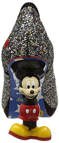 Irregular Choice Damen Minnie Mouse Pumps Black (Black Multi Glitter)