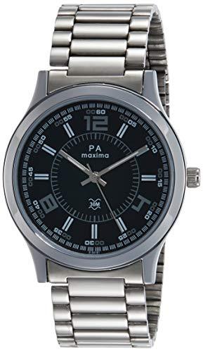 Mens Wristwatch Analog Black Dial Men's Watch-O-56161CMGI