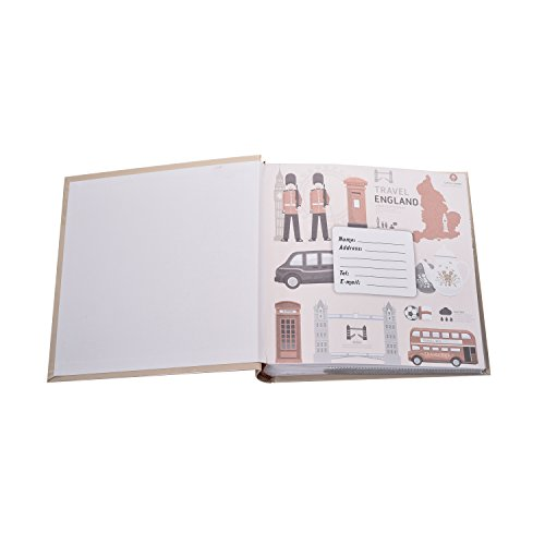 23 x ARPAN London Icons Design Travel Slip Case Memo Album 6x4 for 200 Photos