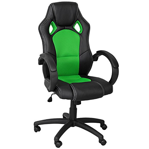 Deals For eMarkooz(TM) Desk chair executive office Swivel chair Mesh chair padded Computer PC Desk chairs adjustable armchair (Green) Reviews