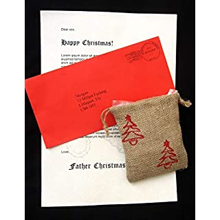 Personalised Father Christmas Letter w/Reindeer Food