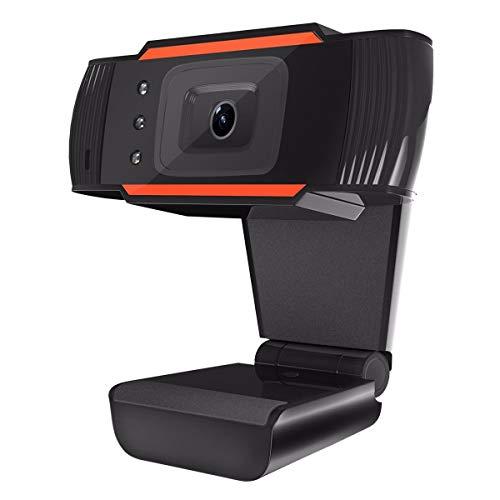 ELEGIANT Usb-Webcam, Web Kamera Usb-Kamera Netzwerk Kamera Live-Kamera Usb 2.0 High Definition Interpoliert 12 Mp Plug & Play-Mit Lärm Mikrofon Annulliert Skype-usb-flash -