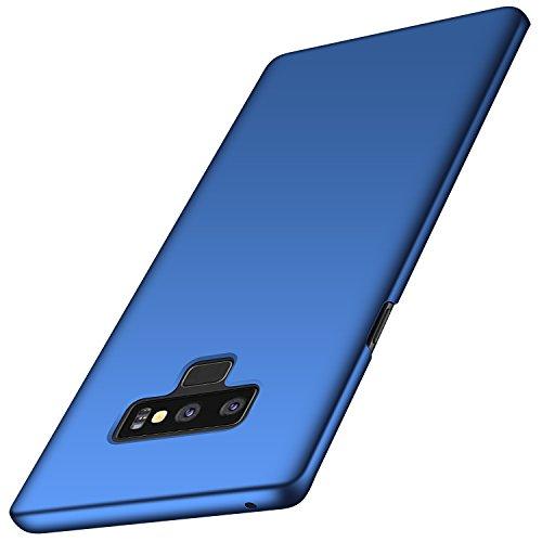 Arkour Galaxy Note 9 Hülle, Minimalistisch Ultradünne Leichte Slim Fit Handyhülle mit Glattes Matte Oberfläche Hard Case für Samsung Galaxy Note9 (Glattes Blau) Slim Fit Hard Case