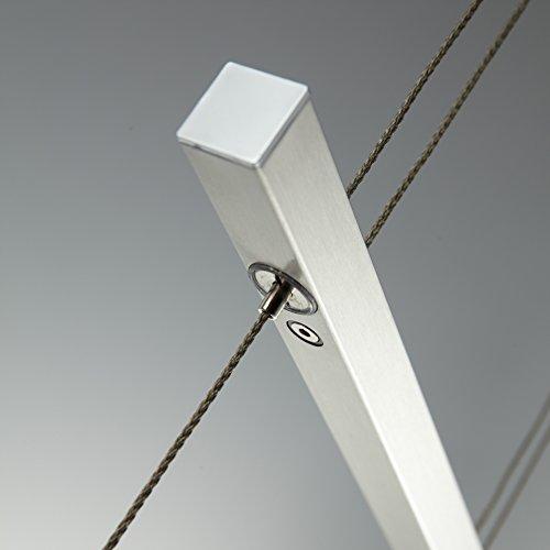 LED Pendelleuchte Hngelampe Dimmbar Tastdimmer An Der Hngeleuchte Wohnzimmerlampe Pendel Esstischlampe