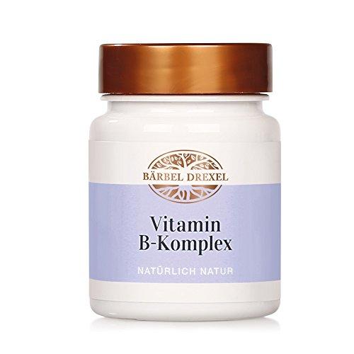 Ernährung Vitamin-b-komplex (Vitamin B-Komplex Presslinge, 37g, ca. 92 Stück - Belastbarer bei Stress mit veganen B-Vitaminen (B1, B2, B3, B5, B6, B7, B9, B12) Bärbel Drexel)