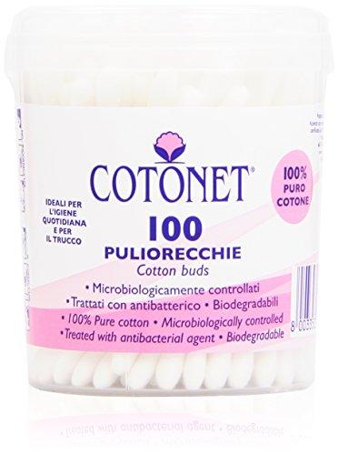 Cotonet - Bastoncillos 100% puro algodón - 100 unidades