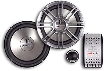 Polk Audio DB6501 6.5-inch 2 Way Component System (Silver)
