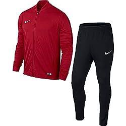 Nike - Academy16 Knt - Survêtement - Homme - rouge/noir/blanc - L