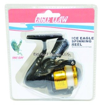 Eagle Claw Ice Spinning Reel from EAGLE CLAW FISHING TACKLE CO.