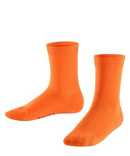 FALKE Family Kinder Socken flash orange (8034) 19-22 aus hautfreundlicher Baumwolle