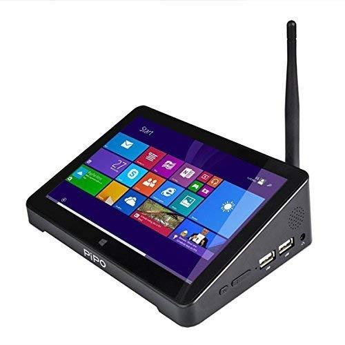 Pipo X8 Wifi 2G RAM 32GB ROM Tablet Mini PC Desktop Laptop TV Box Intel Atom Z3736f Quad Core 2.16 GHz Dual System (Windows 8.1 / Android 4.4 KitKat ) HDMI 7