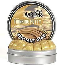 Crazy Aaron Mini Brilliant Gold Putty Tin, Gold - 2 inch
