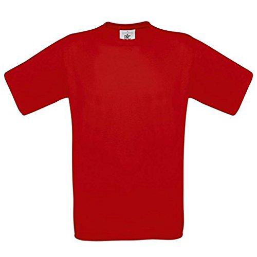 B&C Collection Herren Modern T-Shirt Sunset Orange